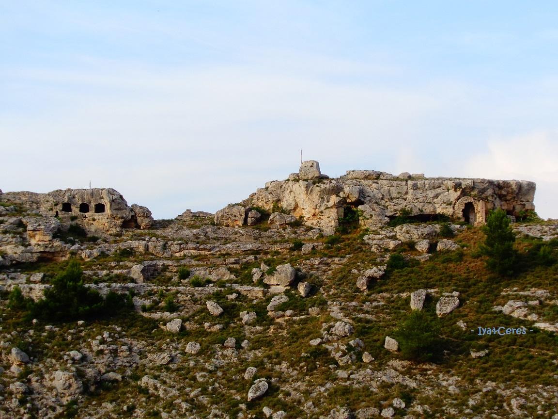 Parte del parco della Murgia, visto da Matera